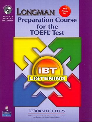 Obrazek Longman Preparation Course for the TOEFL Test: iBT Listening Book, CD-ROM & Audio CDs