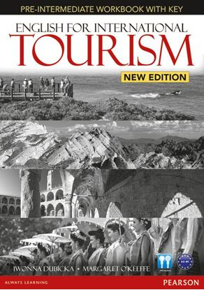 Obrazek English for International Tourism Pre-Intermediate. Ćwiczenia + Klucz + CD