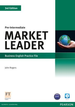 Obrazek Market Leader Pre-Intermediate.   Practice File + CD