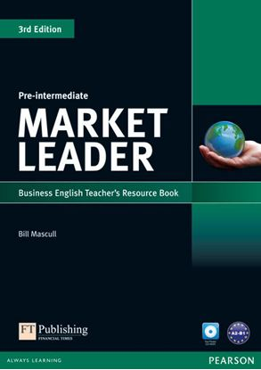 Obrazek Market Leader 3rd Edition Pre-Intermediate.   Teacher's Resource Book + Test Master CD-ROM