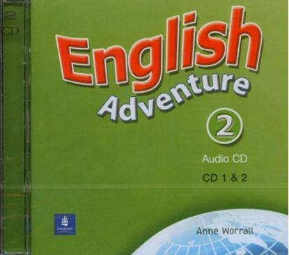 Obrazek English Adventure 2 CD do Podręcznika