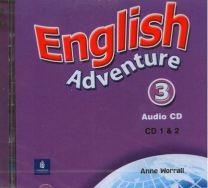 Obrazek English Adventure 3 CD do Podręcznika