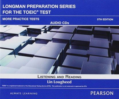 Obrazek Longman Preparation Series for the TOEIC Test. More Practice Tests. CD do Podręcznika