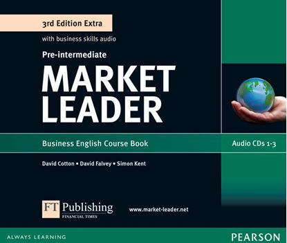 Obrazek Market Leader 3rd Edition Extra Pre-Intermediate Class Audio CD