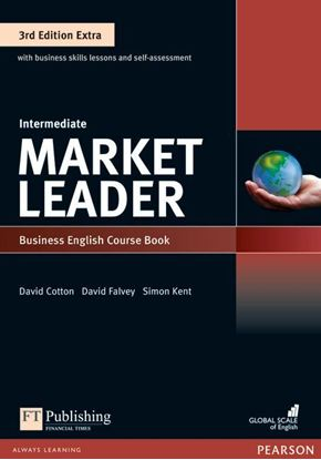 Obrazek Market Leader 3rd Edition Extra Intermediate Coursebook with DVD-ROM Pin Pack