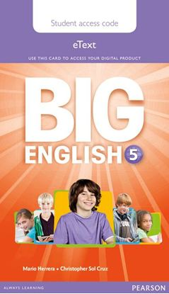 Obrazek Big English 5. Pupil's eText AccessCodeCard