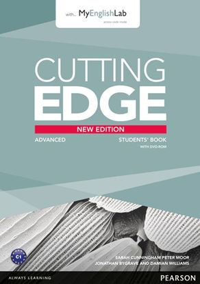 Obrazek Cutting Edge New Edition Advanced. Podręcznik + DVD + MyEnglishLab