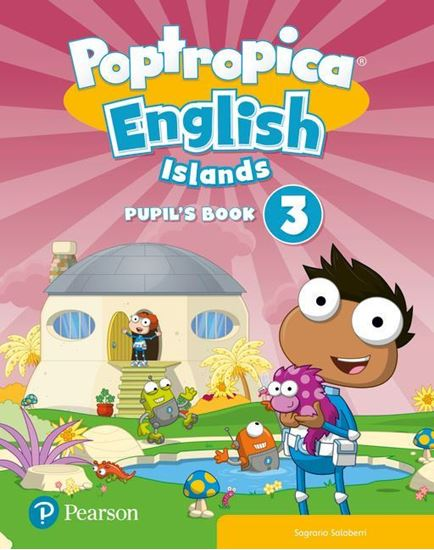 Obrazek Poptropica English Islands 3. Pupil's Book with Online Game Access Card
