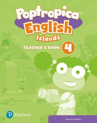 Obrazek Poptropica English Islands 4. Teacher's Book with Online World Access Code and Test Book Pack