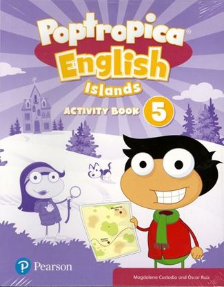 Obrazek Poptropica English Islands 5. Activity Book with My Language Kit