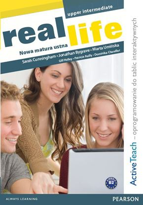 Obrazek Real Life PL Up-Int Active Teach IWB