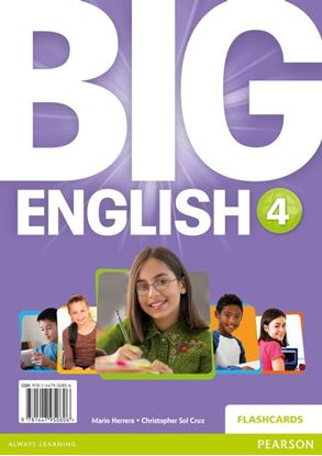 Obrazek Big English 4. Flashcards