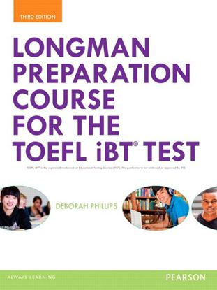 Obrazek TOEFL Longman Preparation Course iBT Test+MEL+online MP3