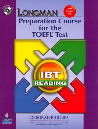 Obrazek Longman Preparation Course for the TOEFL Test: iBT Reading Book with CD-ROM