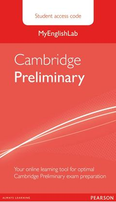 Obrazek Cambridge Preliminary. MyEnglishLab Student's Access Code