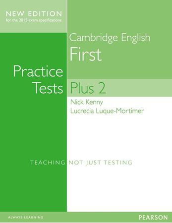 Obrazek dla kategorii Practice Tests Plus 2 First New Edition (2015 exam specification)