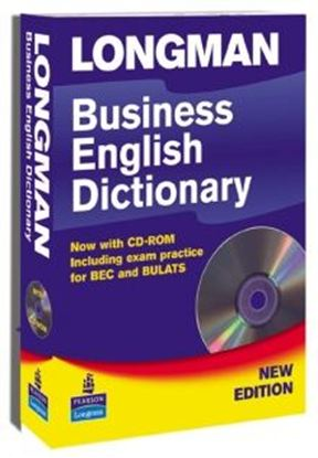 Obrazek Longman Business English Dictionary + CD-ROM.    Miękka Oprawa