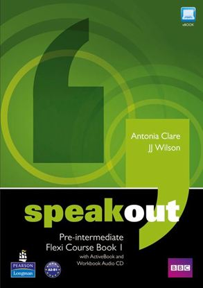 Obrazek Speakout Pre-Intermediate.   Flexi Course Book 1