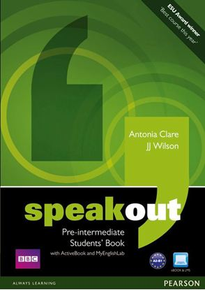 Obrazek Speakout Pre-Intermediate.   Podręcznik + Active Book + DVD + MyEnglishLab