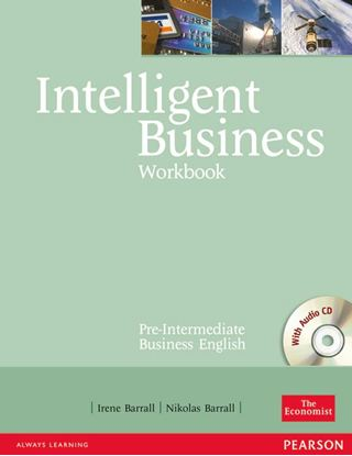 Obrazek Intelligent Business Pre-Intermediate. Ćwiczenia + CD