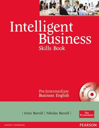 Obrazek Intelligent Business Pre-Intermediate. Skills Book + CD