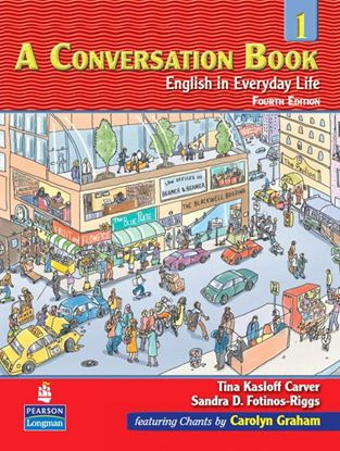Obrazek A Conversation Book 1 English in Everyday Life   Podręcznik + CD
