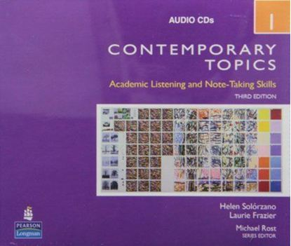 Obrazek Contemporary Topics 1 CDs 3ed