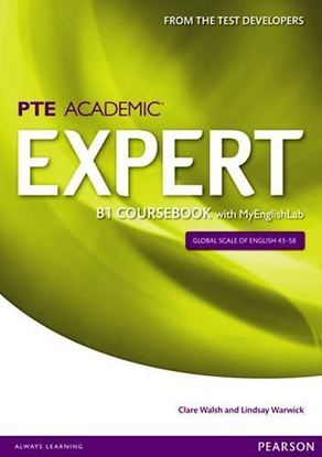 Obrazek PTE Academic Expert B1 Coursebook with MyEnglishLab