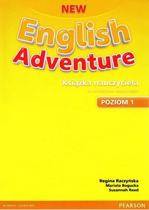 Obrazek New English Adventure PL 1 Teacher's Book with Teacher's eText (do wersji wieloletniej)