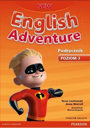 Obrazek New English Adventure 3 PB +MP3 CD (podręcznik wieloletni)