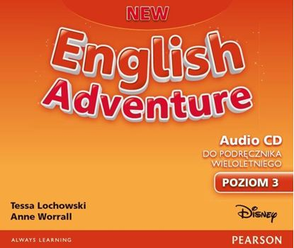 Obrazek New English Adventure 3 Class CD (do wersji wieloletniej)