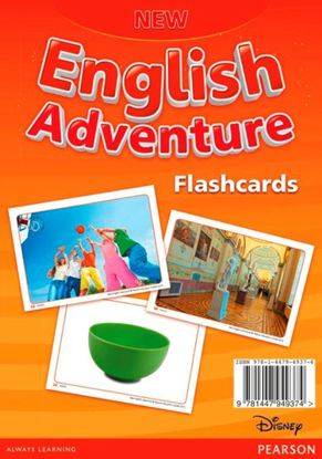 Obrazek New English Adventure 3 Flashcards