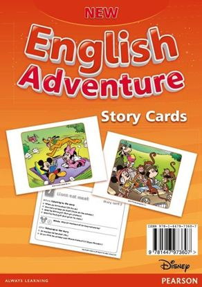 Obrazek New English Adventure 3 Storycards