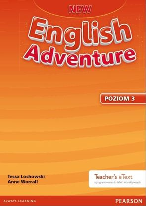 Obrazek New English Adventure 3 Teacher's eText - oprogramowanie do tablic interaktywnych