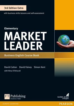 Obrazek Market Leader 3rd Edition Extra Elementary Coursebook with DVD-ROM Pin Pack