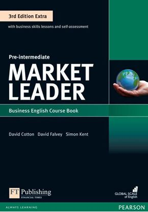 Obrazek Market Leader 3rd Edition Extra Pre-Intermediate Coursebook with DVD-ROM Pin Pack