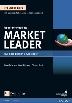 Obrazek Market Leader 3rd Edition Extra Upper Intermediate Coursebook with DVD-ROM Pin Pack