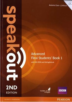Obrazek Speakout 2ed Advanced Flexi Course Book 1 with MyEnglishLab