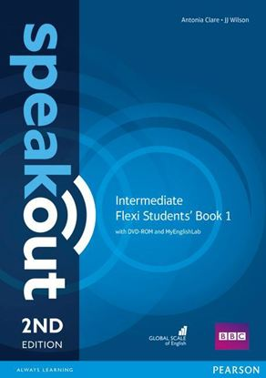 Obrazek Speakout 2ed Intermediate Flexi Course Book 1 with MyEnglishLab