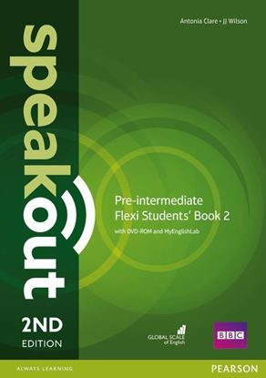 Obrazek Speakout 2ed Pre-Intermediate Flexi Course Book 2 with MyEnglishLab