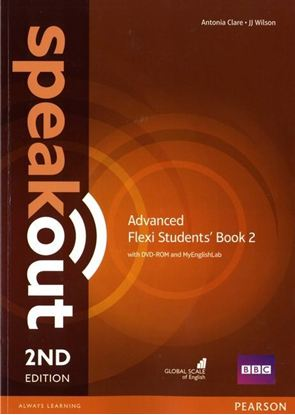 Obrazek Speakout 2ed Advanced Flexi Course Book 2 with MyEnglishLab
