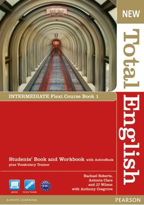 Obrazek New Total English Intermediate.   Flexi Course Book 1