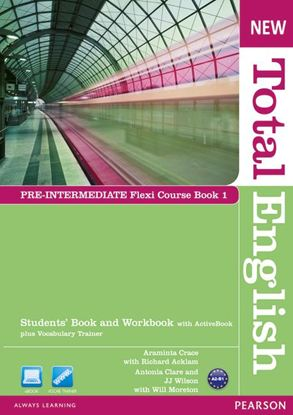 Obrazek New Total English Pre-Intermediate.   Flexi Course Book 1