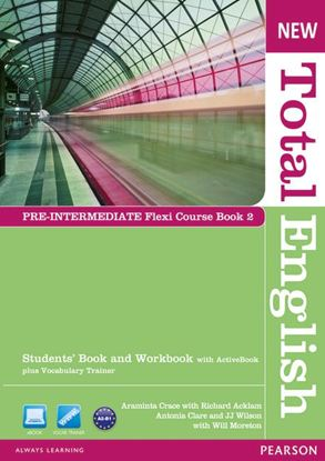 Obrazek New Total English Pre-Intermediate.   Flexi Course Book 2