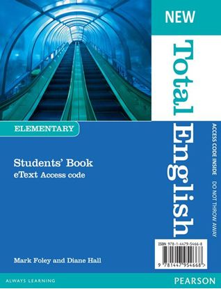 Obrazek New Total English Elementary. eText Students' Book Access Card