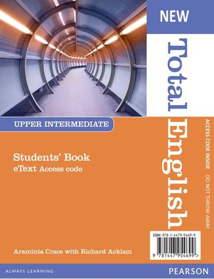 Obrazek New Total English Upper Intermediate. eText Students' Book Access Card
