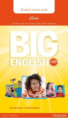 Obrazek Big English Starter. Pupil's eText AccessCodeCard