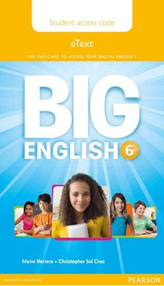 Obrazek Big English 6 Pupil eText AccCode Card