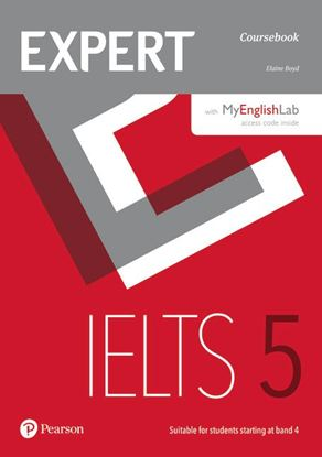 Obrazek Expert IELTS 5 Students' Book with MyEnglishLab