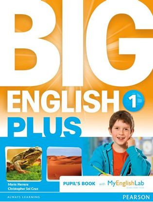 Obrazek Big English Plus 1 Pupil's Book with MyEnglishLab